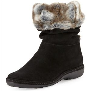 Stewart Weitzman Coinage Roll Down Ankle Boot